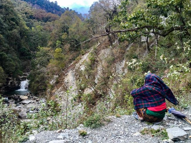 Trekking Ghorepani Poon Hill en 4 días birethanti