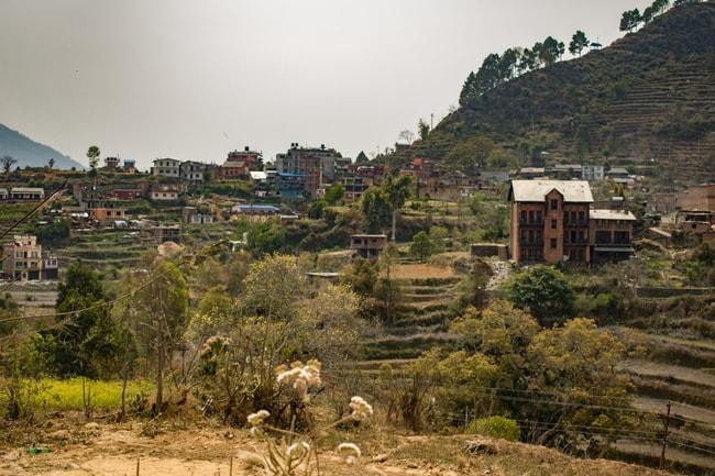 aldea de bandipur en nepal