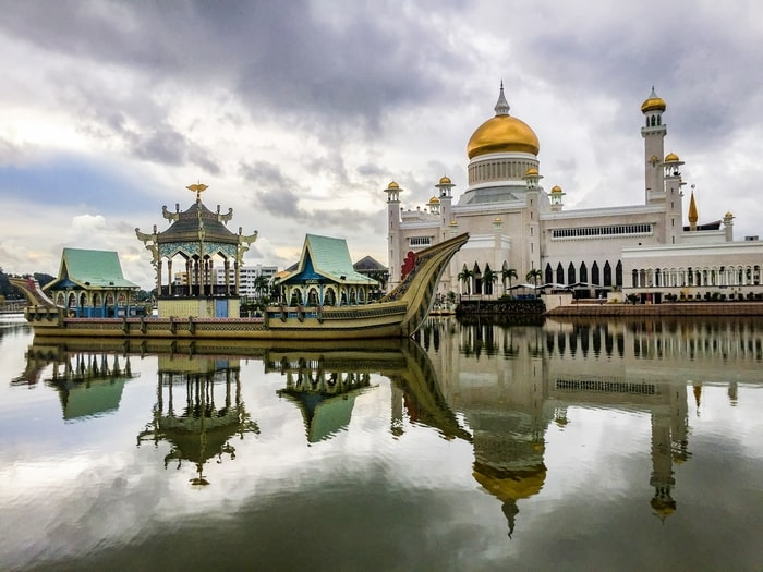 viaje tres dias en brunei Brunéi mezquita