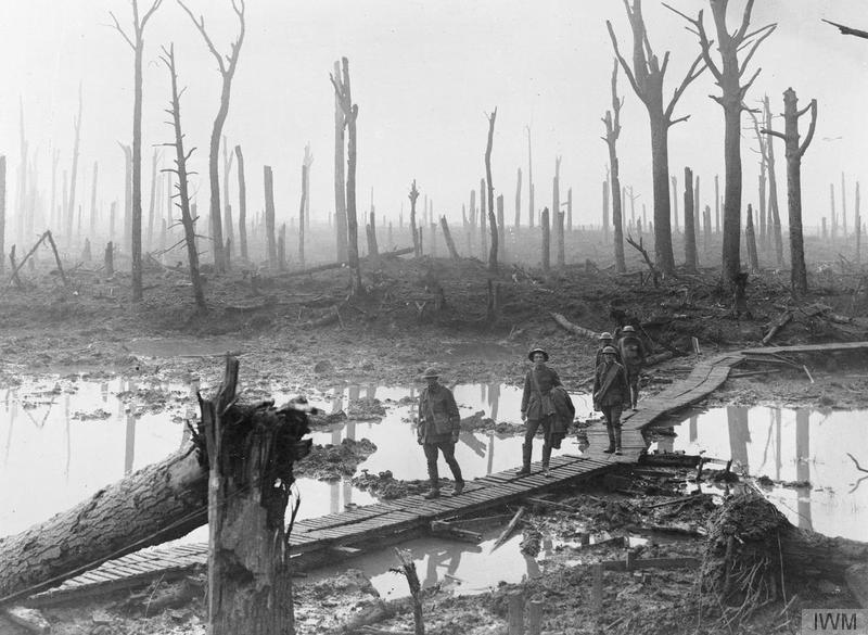 primera guerra mundial trincheras. Qué ver en Ypres