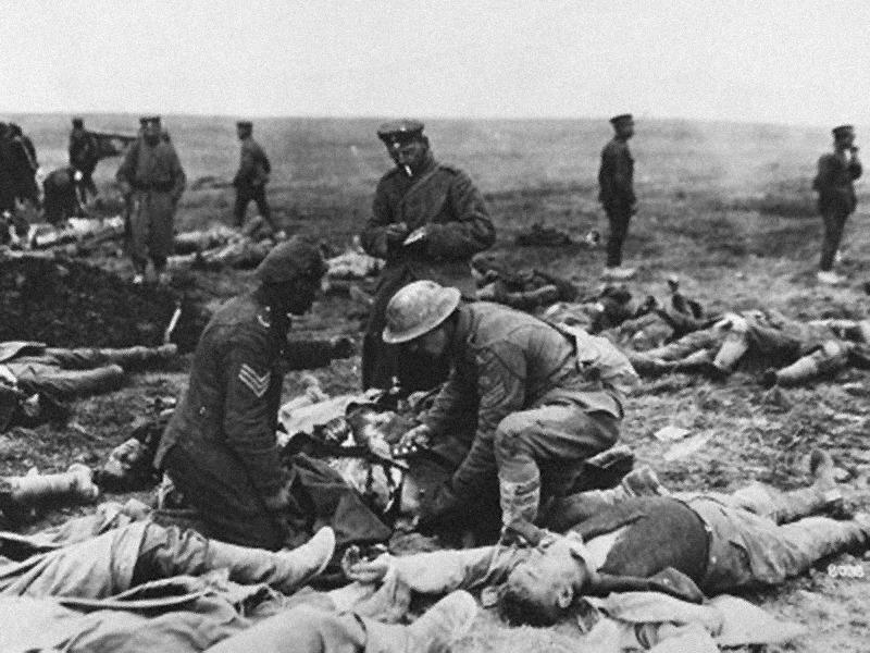 soldados heridos. Qué ver en Ypres