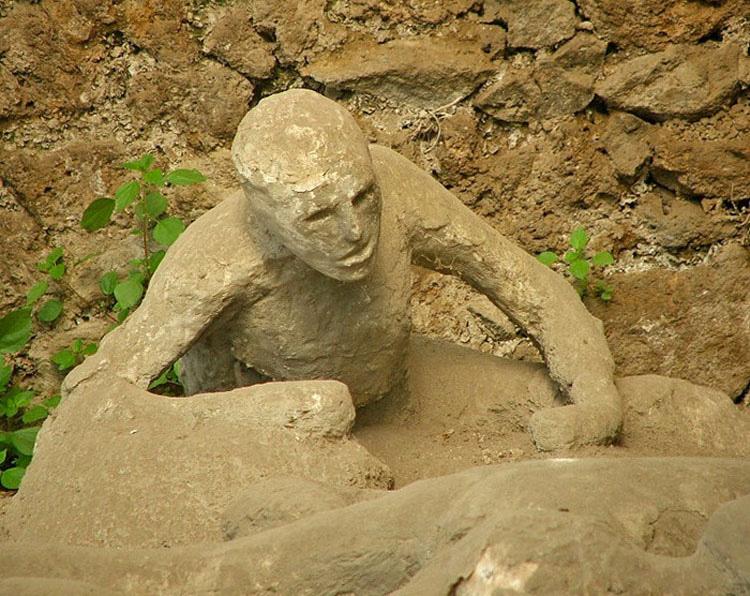 jardin de los fugitivos en pompeya