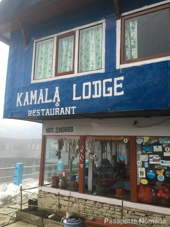 kamala lodge en el trekking poon hill