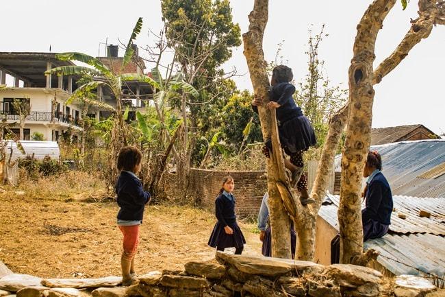 niños en bandipur