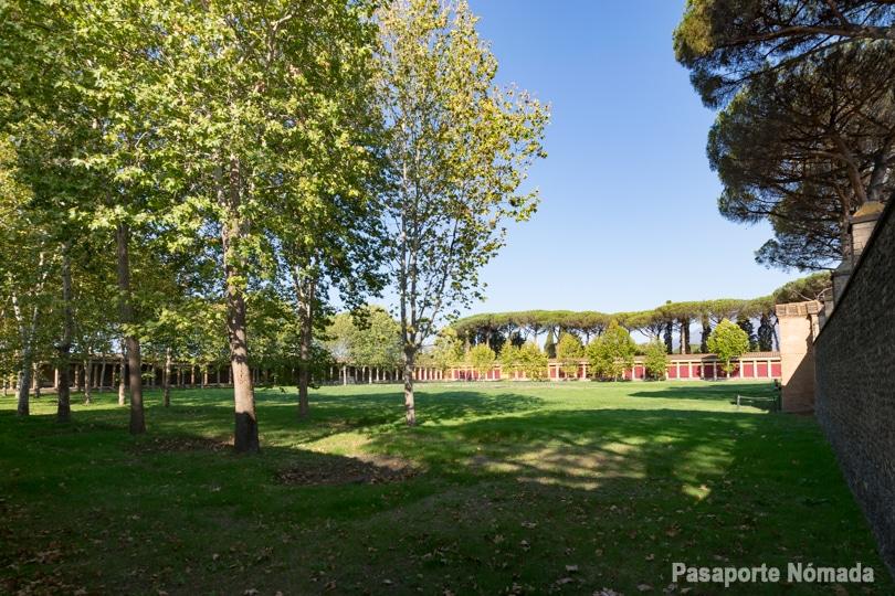 palestra del parque arqueologico y ruinas de pompeya