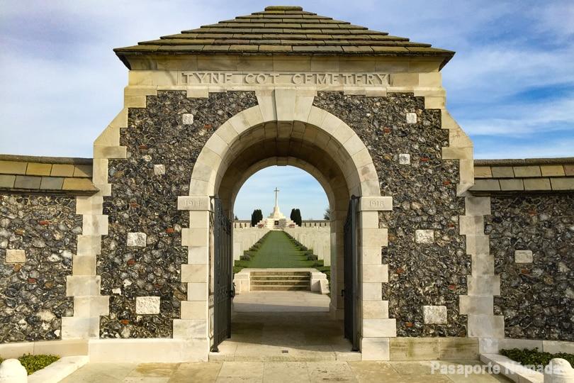 ruta por el saliente de ypres cementerio tyne cot