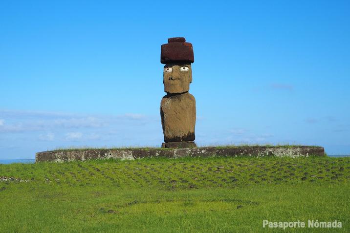 moai ahu ko te riku