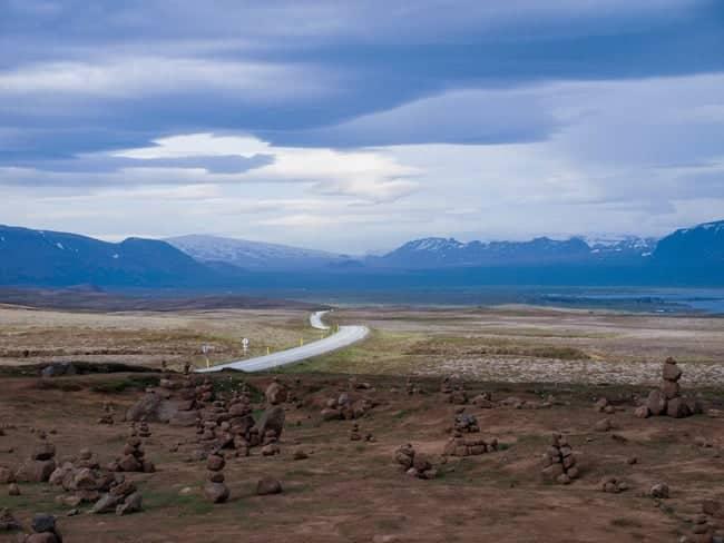 ruta por la ring road parque de thingvellir islandia
