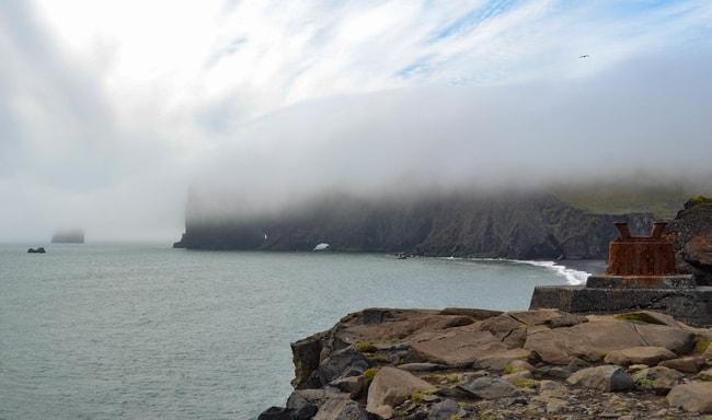 ruta por la ring road islandia playa y arco de dyrholaey