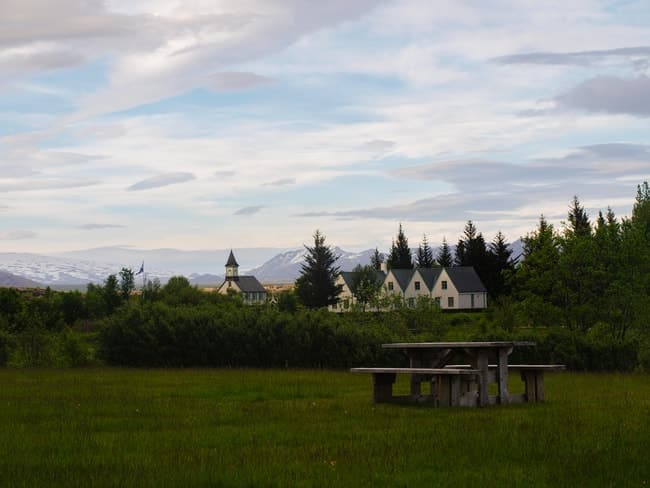 ruta por la ring road islandia parque nacional de thingvellir