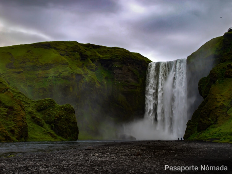 skogarfoss una de las cascadas mas bellas del mundo