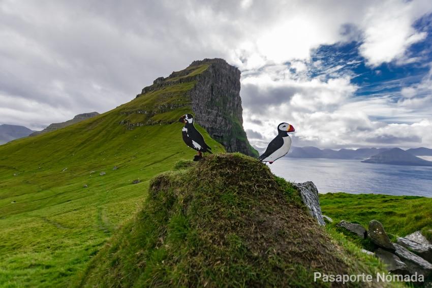 isla de kalsoy en las islas feroe