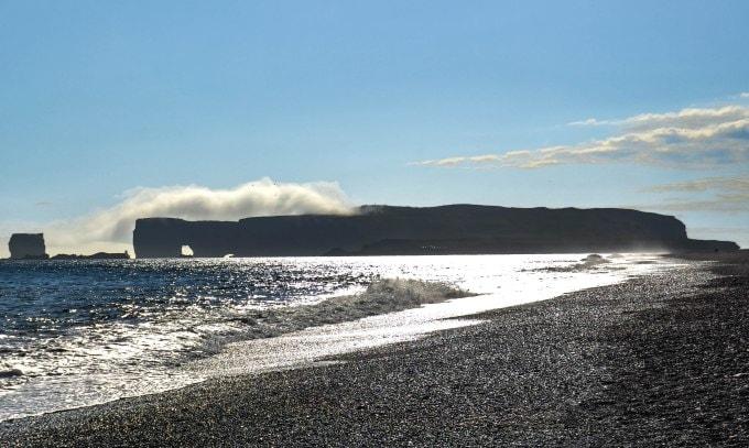 ruta ring road en islandia dyrholaey