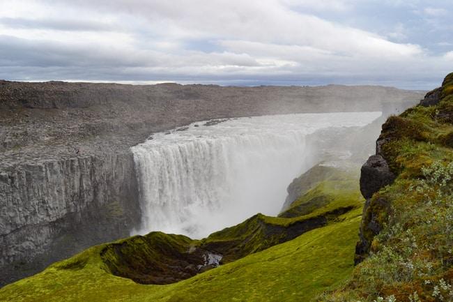 detifoss ruta por la ring road en islandia