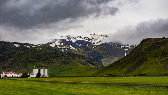 ruta por la ring road islandia volcan eyjafjayajokull