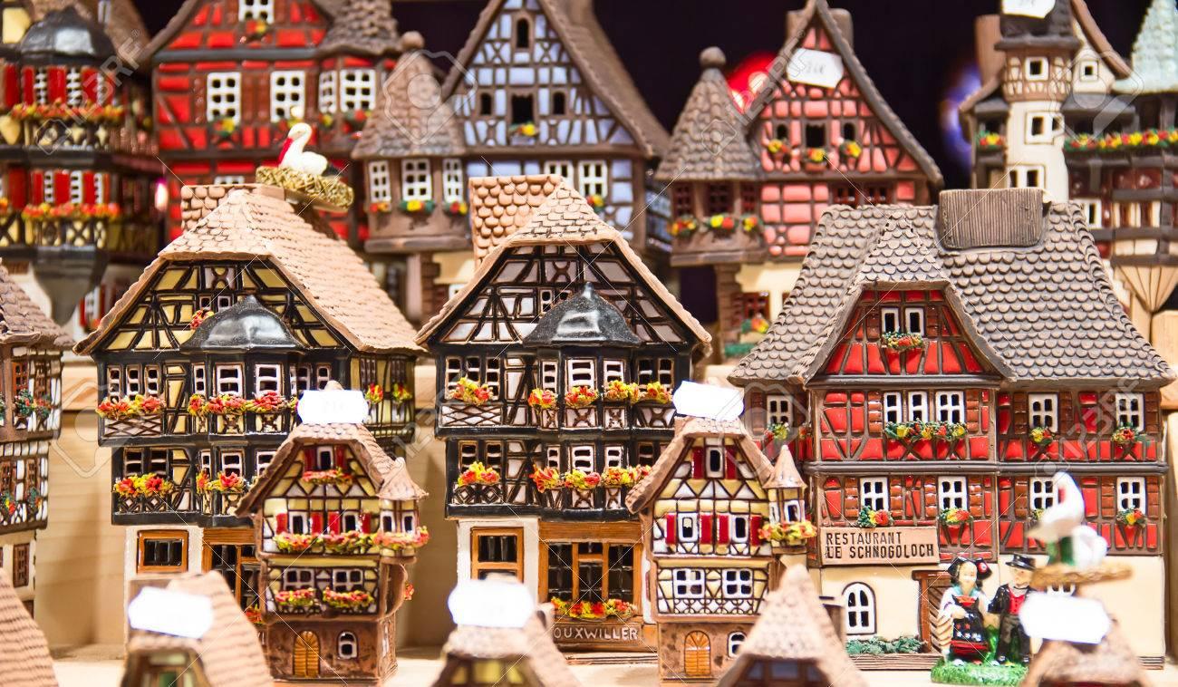 casitas tradicionales alsacianas