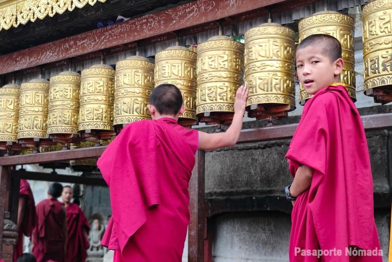 que hacer en kathmandu visitar monasterio budista