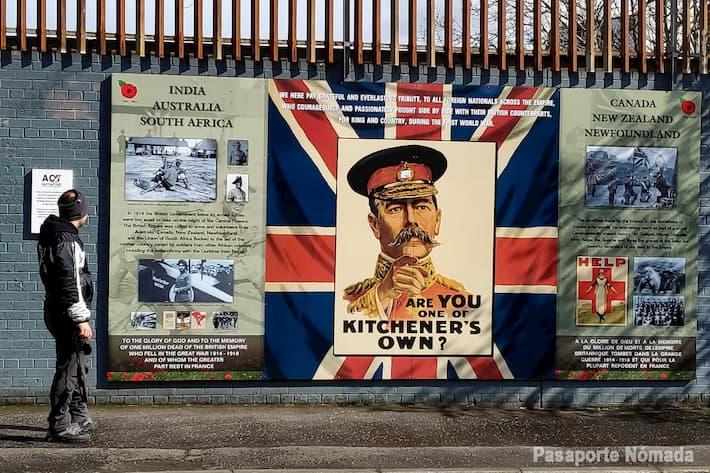mural ejercito britanico west belfast