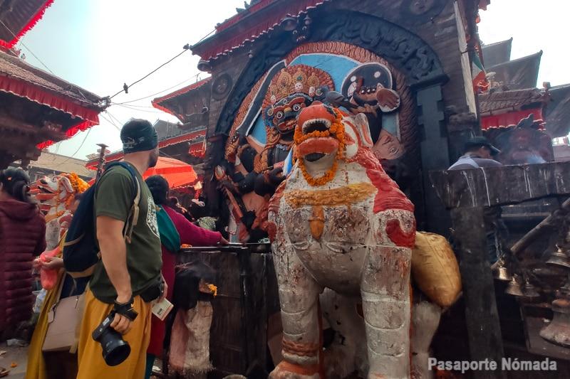 templo hindu plaza durbar kathmandu