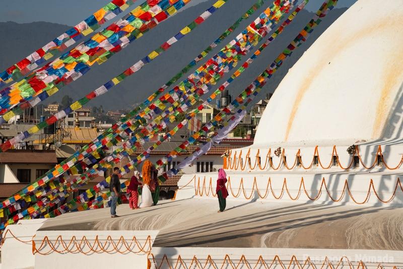 que ver en kathmandu bodhanath stupa