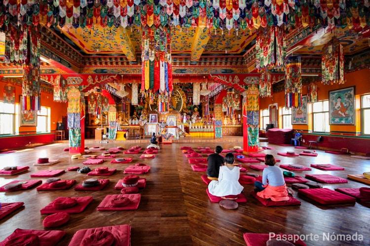 que ver en el valle de kathmandu monasterio de kopan