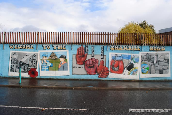 shankill rd en west belfast