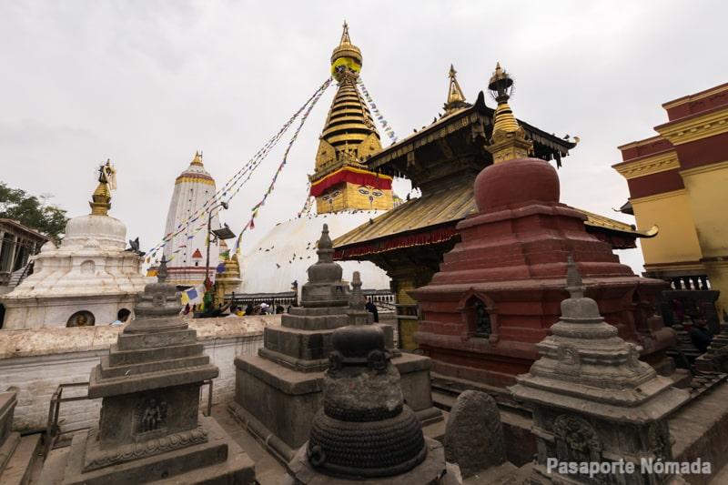 stupa swayambunath y templo hindu hariti