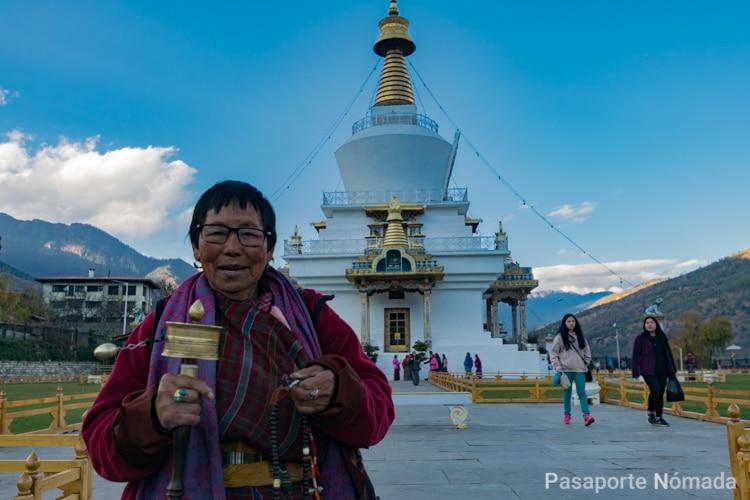 bhutan national memorial chorten