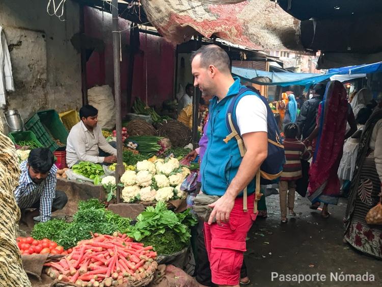 bazares en la ciudad de agra