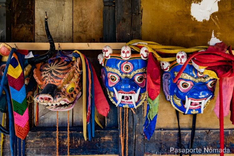mascaras butanesas