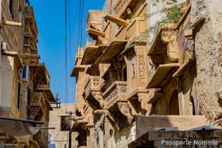 havelis en la ciudad de jaisalmer