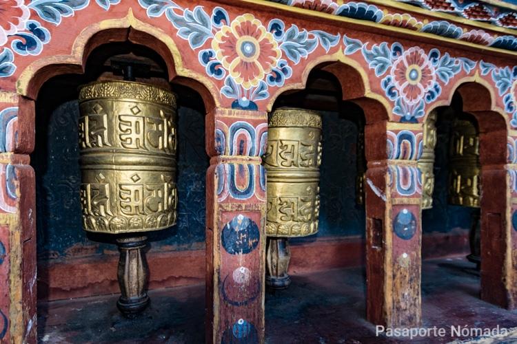 molinos de oracion en butan