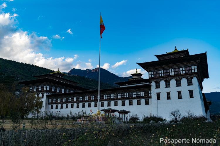 timphuo dzong que ver en butan