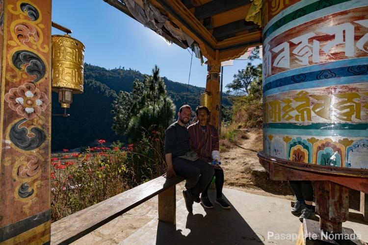 ruedas de oracion bhutan nido del itgre