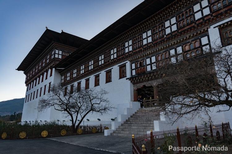 timphu dzong butan