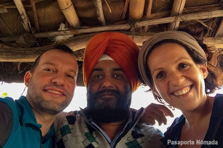foto con suki en india