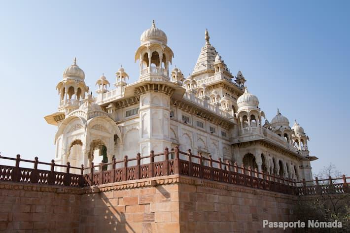 ruta por el norte de indiaque ver en jodhpur jaswant thada mausoleo