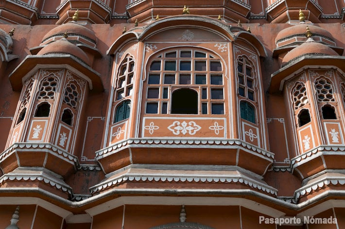 jawa mahal ciudad rosa de jaipur palacio de los vientos