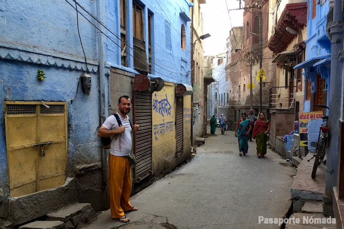 calles en la bue city jodhpur