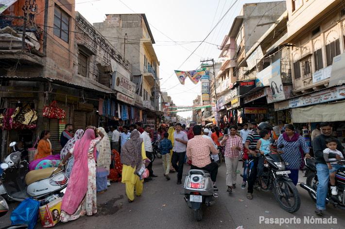 calles en la ciudad de jodhpur