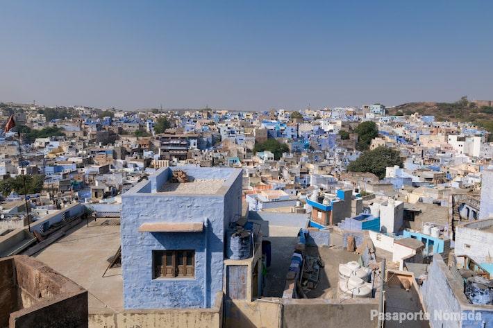 que ver en jodhpue blue city