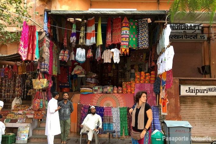 mercados d ela ciudad de jaipur