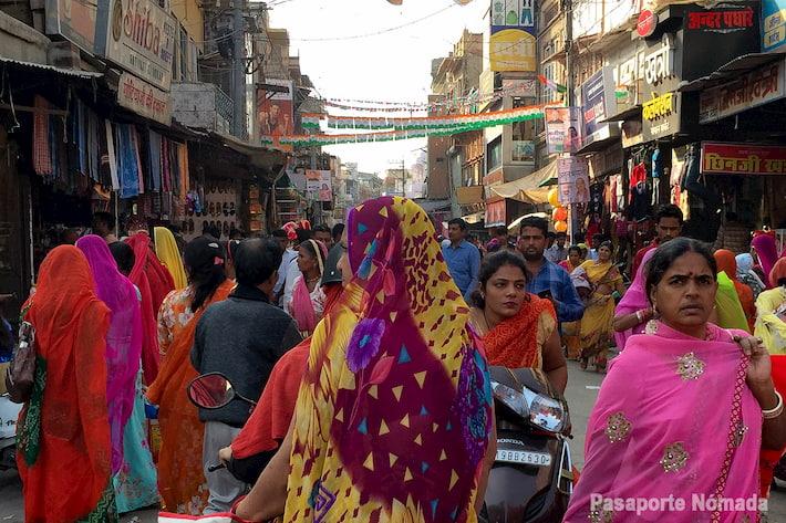que ver en jodhpur mercado de sardar rajastan india