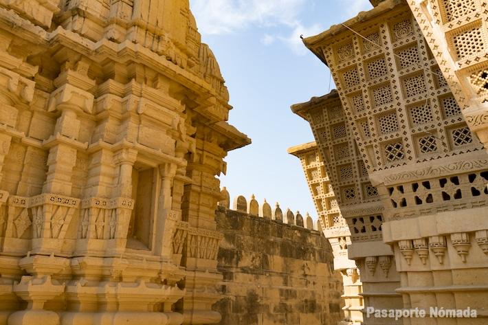 templo jaini de parasawanath en lodurva