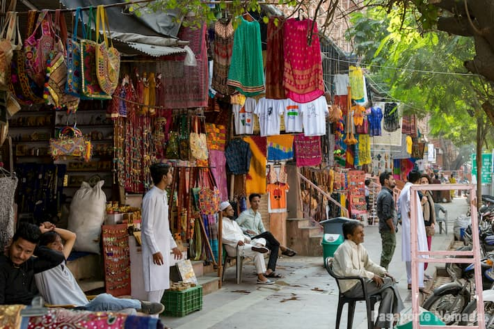 bazar en la ciudad de jaipur