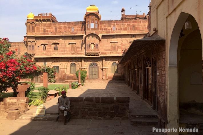 fuerte de pokhran viaje por el norte de india