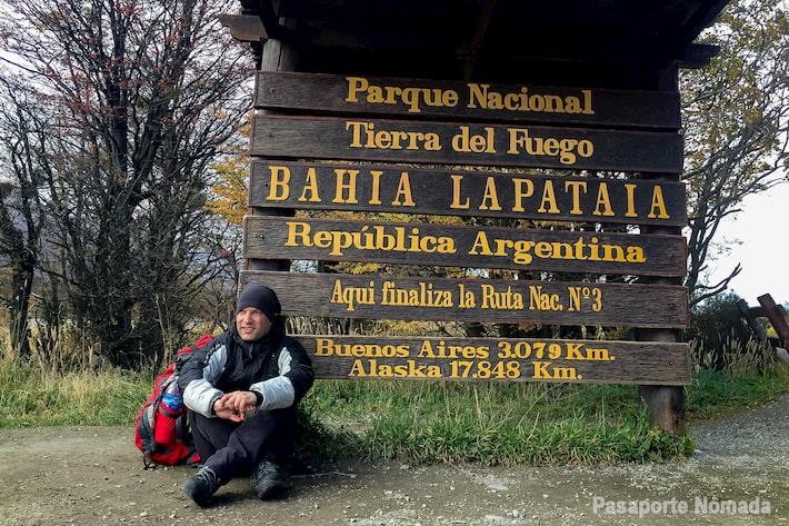 ruta 3 bahia lapataia parque nacional tierra del fuego