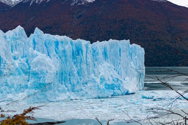 desprendimientos del glaciar perito moreno