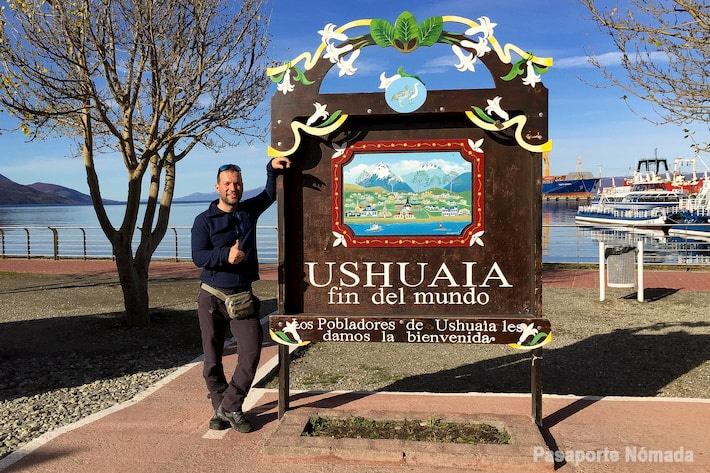 cartel del fin del mundo ushuaia
