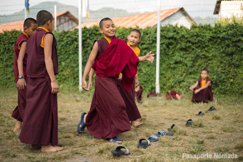 campo de regugiados tibetanos tashi palkhel